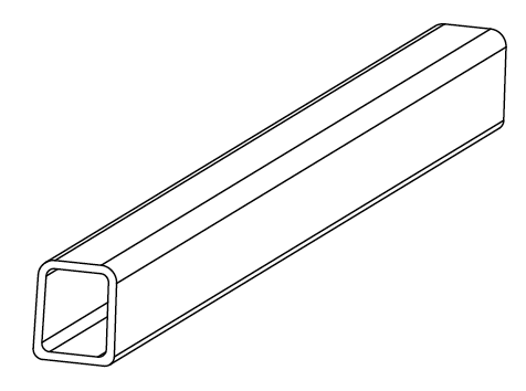 800-0023 - Side rail (front-rear)