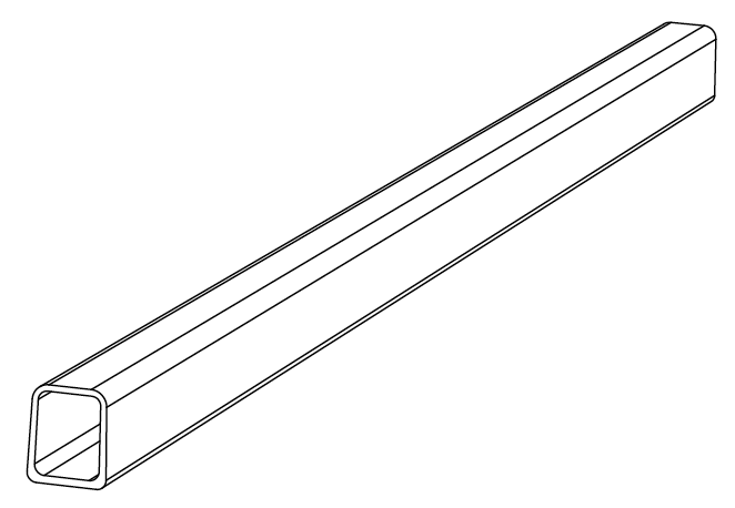 800-0045 - Side rail, Twin (left-right)